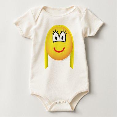 Blonde emoticon   baby_toddler_apparel_tshirt
