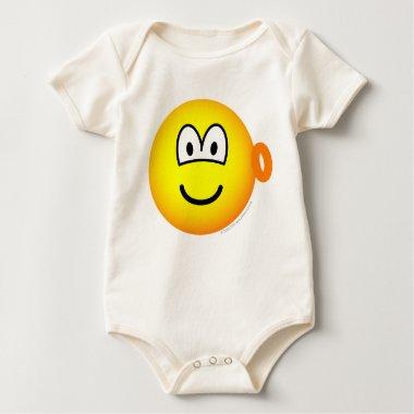 Ear ring emoticon   baby_toddler_apparel_tshirt