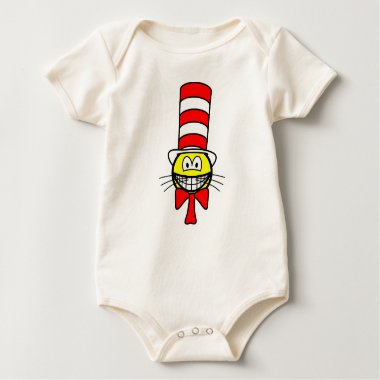 Cat in the hat smile   baby_toddler_apparel_tshirt