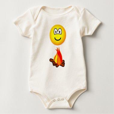 Campfire emoticon   baby_toddler_apparel_tshirt