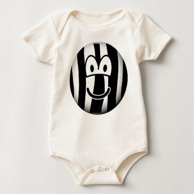 Zebra emoticon   baby_toddler_apparel_tshirt