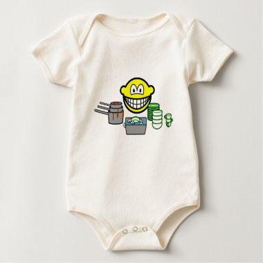 Washing up smile   baby_toddler_apparel_tshirt