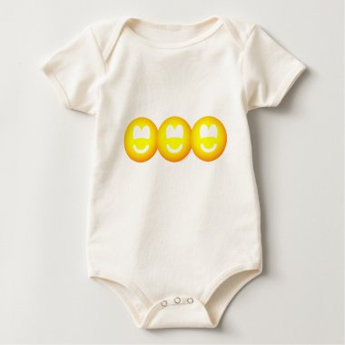 Cut out emoticons banner  baby_toddler_apparel_tshirt