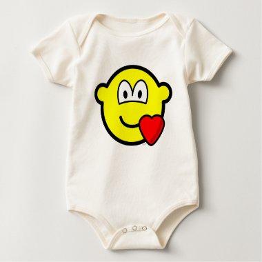 Love heart buddy icon   baby_toddler_apparel_tshirt