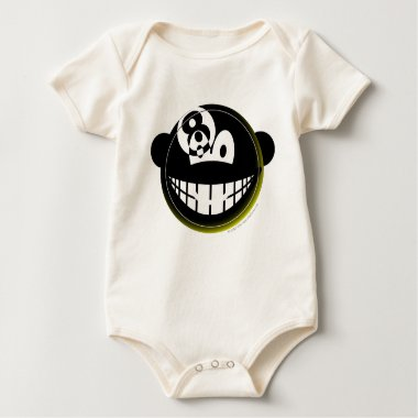 Eight ball emoticon   baby_toddler_apparel_tshirt