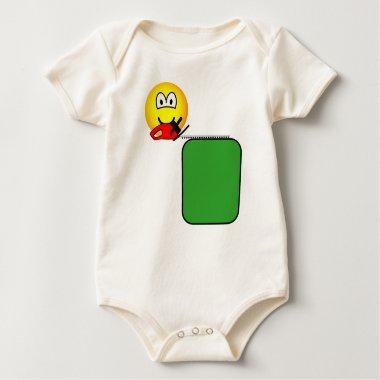 Hedge trimmer emoticon   baby_toddler_apparel_tshirt