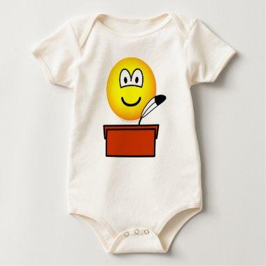 Scribe emoticon   baby_toddler_apparel_tshirt
