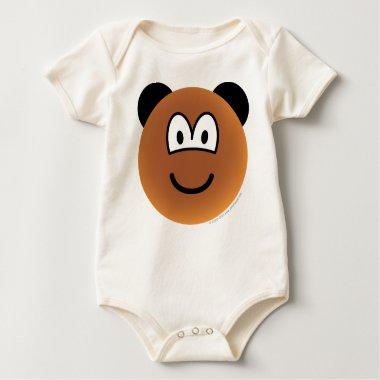 Bear emoticon   baby_toddler_apparel_tshirt
