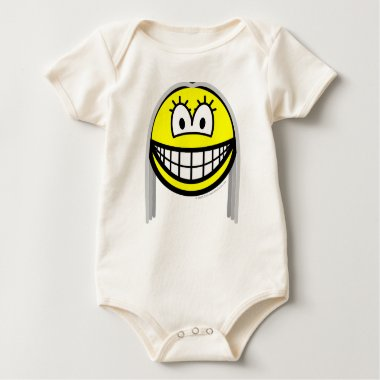 Gray haired smile   baby_toddler_apparel_tshirt