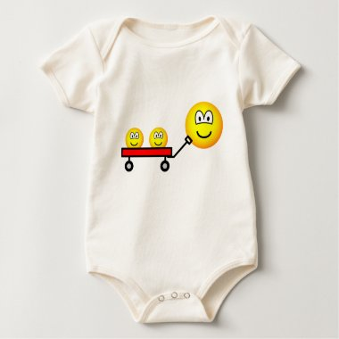 Pulled in red wagon emoticon   baby_toddler_apparel_tshirt