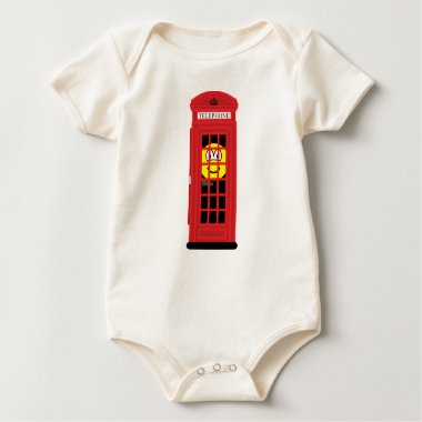 Phone box buddy icon classic red  baby_toddler_apparel_tshirt