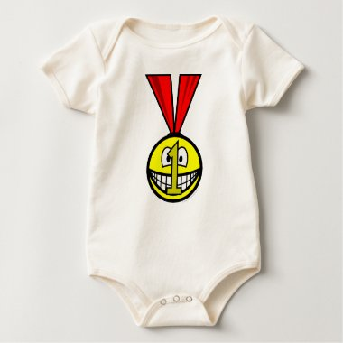 Medal smile   baby_toddler_apparel_tshirt