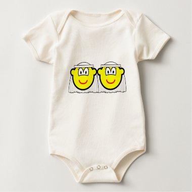 Gay Marriage buddy icons Female  baby_toddler_apparel_tshirt