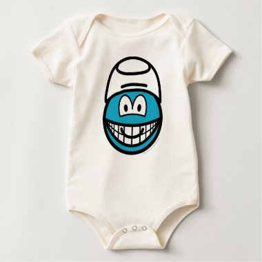 Smurf smile   baby_toddler_apparel_tshirt