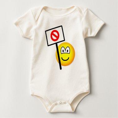 Demonstrator emoticon   baby_toddler_apparel_tshirt