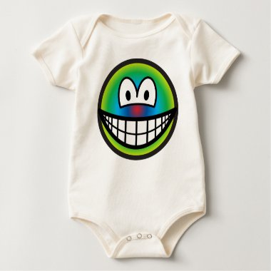 Psychedelic smile   baby_toddler_apparel_tshirt