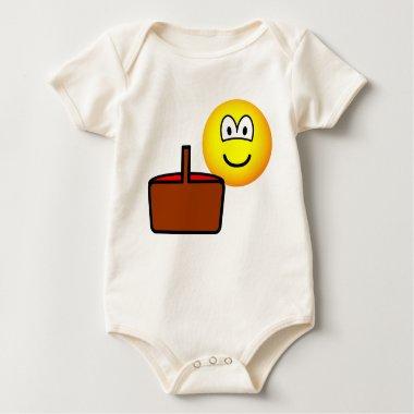 Picnic emoticon   baby_toddler_apparel_tshirt