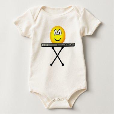 Keyboard emoticon   baby_toddler_apparel_tshirt