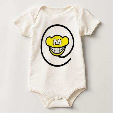 Web monkey smile   baby_toddler_apparel_tshirt