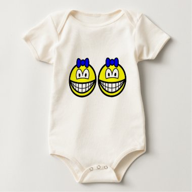 Identical twin smile Boys  baby_toddler_apparel_tshirt