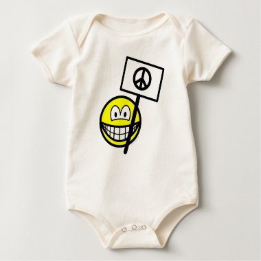 Ban the bomb smile   baby_toddler_apparel_tshirt