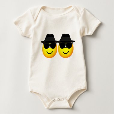 Blues Brothers emoticons   baby_toddler_apparel_tshirt