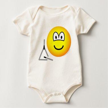 Triangle emoticon   baby_toddler_apparel_tshirt