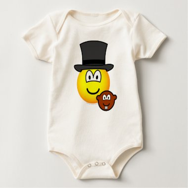 Groundhog day emoticon   baby_toddler_apparel_tshirt