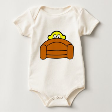 Bange buddy icon Achter de bank  baby_toddler_apparel_tshirt