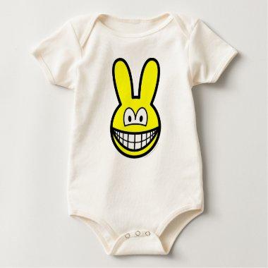 Bunny smile   baby_toddler_apparel_tshirt