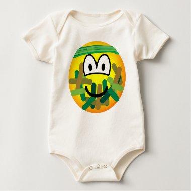 Camouflage emoticon   baby_toddler_apparel_tshirt