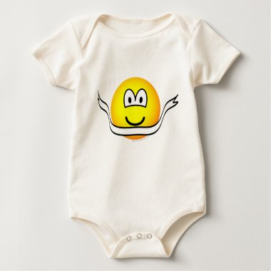 Winning emoticon Running/Tracking emoticon  baby_toddler_apparel_tshirt