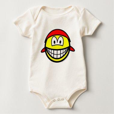 Bandana smile   baby_toddler_apparel_tshirt
