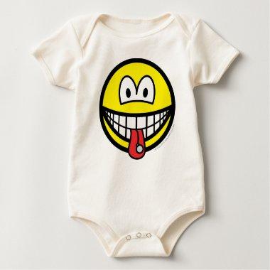 Tongue stud smile   baby_toddler_apparel_tshirt