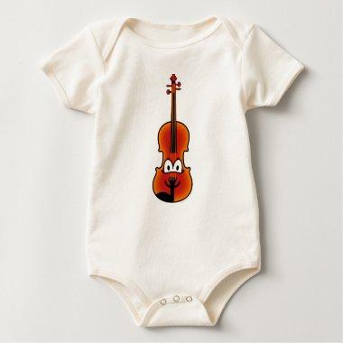 Violin emoticon   baby_toddler_apparel_tshirt