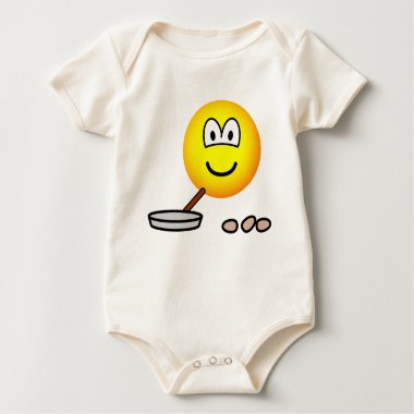 Frying emoticon   baby_toddler_apparel_tshirt