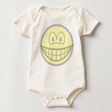 Transparent smile   baby_toddler_apparel_tshirt