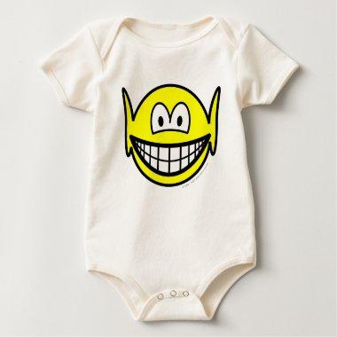 Elf smile   baby_toddler_apparel_tshirt
