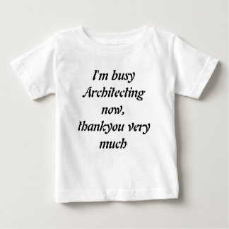 Baby Toddler Being Geniuses Tshirts - Architect
