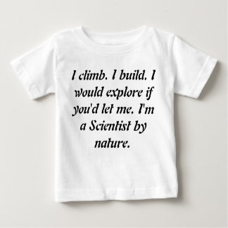 Baby Toddler Being Geniuses Tshirts - Science