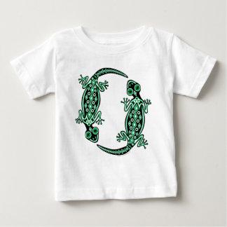 Baby/Toddler Green Geckos Totem Apparel Baby T-Shirt
