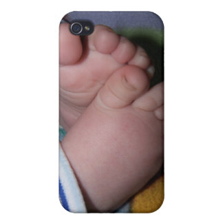 Baby toes iphone case for new parents iPhone 4/4S covers