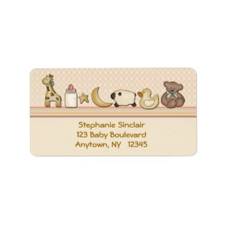 Baby Toys Label