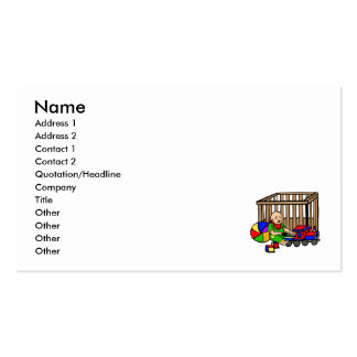 baby toys playpen Double-Sided standard business cards (Pack of 100)