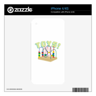 Baby Toys Skin For iPhone 4S