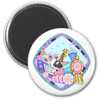 Baby Train Baby Gifts 2 Inch Round Magnet