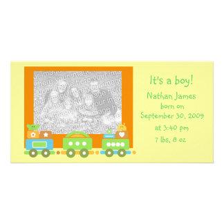 Baby Train Card