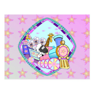 Baby Train Greeting Cards