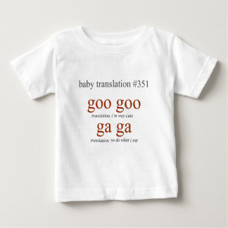 Baby Translation #351 Baby T-Shirt