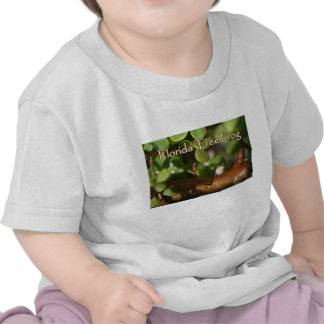 Baby Tree Frog in Bonsai plant with text T Shirt